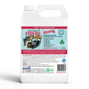 Tassie Salmon Fish Oil Mix - Fishing Attractant - 10 Litre