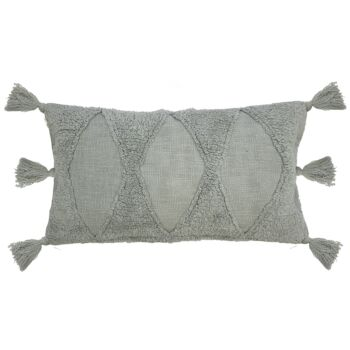 Jardee Rectangle Cushion 30x60cm Eucalyptus