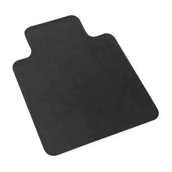 Floor Carpet Protector No Pin Work Mats for Office Chairs in Black
