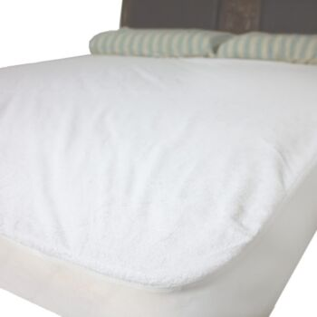 Washable Reusable Terry Incontinence Waterproof Mattress protector cover (Single)