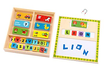LEARNING PUZZLE BOX