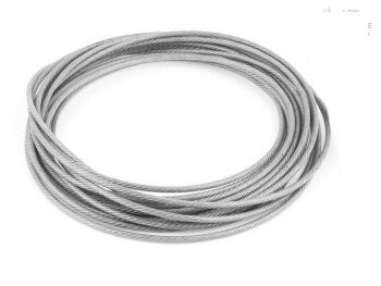 3.2mm Clear Coated 7x7 Stainless Steel Wire Rope