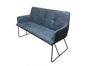 6IXTY Ideal 2-Seater Sofa - Dark Grey