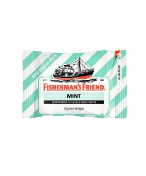 Fisherman's Friend Peppermint Sugar Free, 12 x 25g