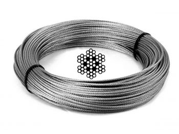 6.0mm 7x7 G316 Stainless Steel Wire Rope