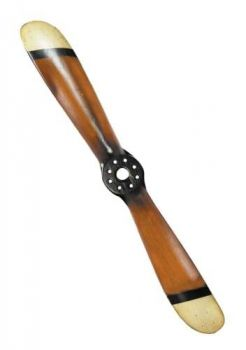 Vintage Baby Propeller Replica - Black and Ivory