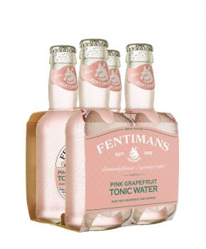 Fentimans Pink Grapefruit Tonic Water, 6 x 4 200ml Pack