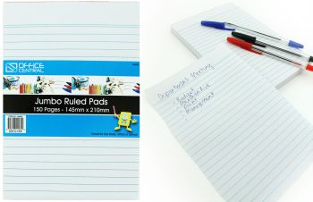 Pad Ruled Pads 145mm x 210mm 150pages