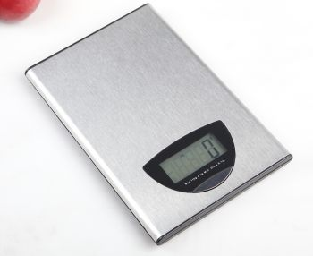 5Kg Stainless Steel Kitchen Scale Lcd Display 1G Graduation 5000G