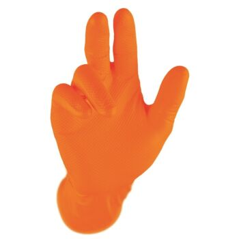 Nitril H/D Disposable Gloves Orange