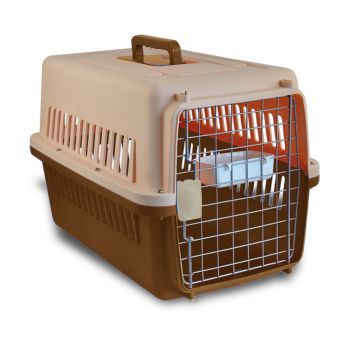 PaWz Portable Pet Kennel Travel Airline Carry Bag for Cats and Dogs in Brown