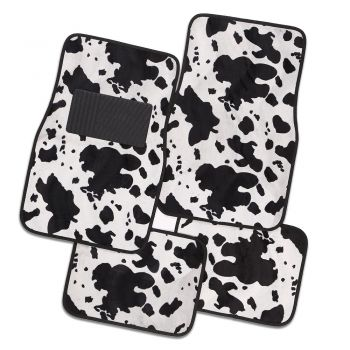 Safari Carpet Mat Spotted Cow