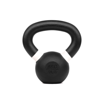 Verpeak Cast Iron Kettlebell Powder Coated Dumbbell Weight Lifting Gym Crossfit 4KG