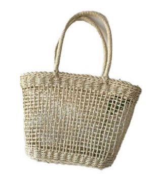 Bag - Hand Woven Tote - Sosha Natural Light - 40x11x28