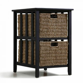 Levede Replica Winsome Morris Side Table Bedside Tables Storage Nightstand