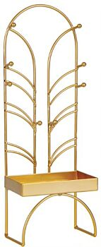 H&G Deco Gold Jewellery Stand