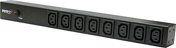 ServerLink 10A Basic 1U Horizontal or Zero U Vertical PDU IEC-C13 Sockets