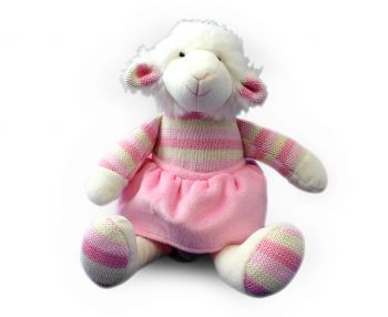 Plush Toy Lamb - Pink