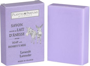 Lavender Flowers Soap with Donkey Milk 100 g/3.5 oz