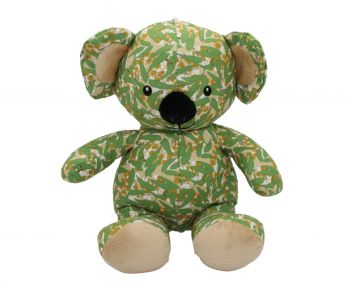 Toy Koala - Eucalyptus leaf design (Summer)