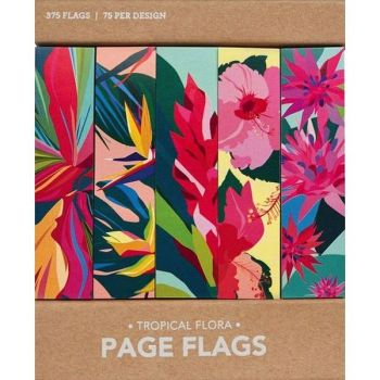 Page Flags-Tropical Flora
