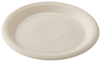 Cornstarch 23cm Dinner Plate (Natural) - 20pc