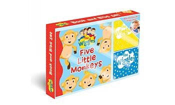 The Wiggles: Five Little Monkeys Book and Bib Gift Set