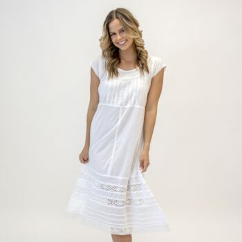 Anabelle White Nightdress