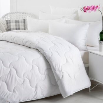 Wooltara Imperial Luxury 450Gsm Washable Winter Australia Wool Quilt - Double Bed