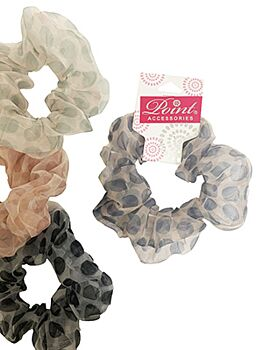Scrunchie large dots