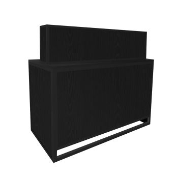 Glammar Dominican Reception Desk Black