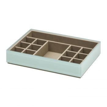Stackable Fine Jewellery & Trinket Tray - Mint