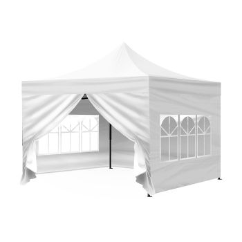 Mountview Pop Up Gazebo Outdoor Foldable Tent 3x3M in White Colour