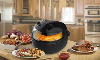 BLACK AIR FRYER, 10LT