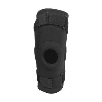 Protected Metal Hinged Full Knee Support Brace in Medium Size