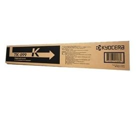 Kyocera FS-C8020M / FS-C8025MFP / FS-C8520MFP / FS-C8525MFP - TK-899K Black Toner - Estimated Page Yield: 12,000 pages
