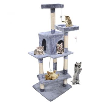 PaWz 1.45M Cat Scratching Post Tree Gym House Condo Furniture Scratcher Tower