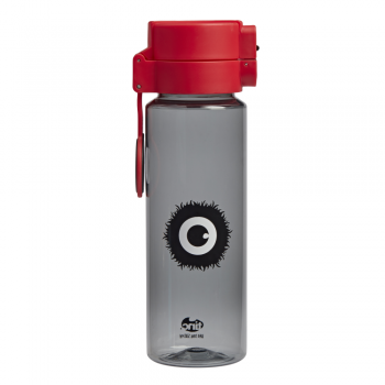 Black Flip and Clip Water Bottle
