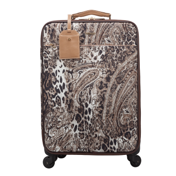 Broome Leopard Trolley Travel Bag