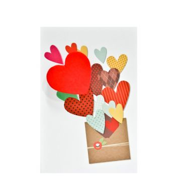 Small Card Heart Envelope