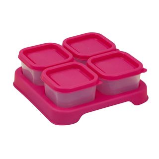 Fresh Baby Food Unbreakable Cubes (2oz/4pk)-Pink-Adult use only