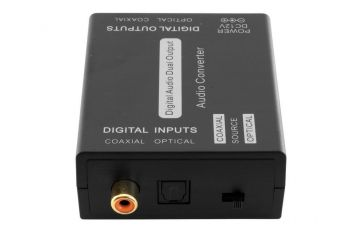 Coaxial and Optical Toslink 2 Way  Audio Converter