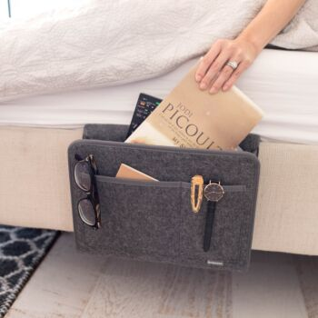 Beddy | The Original Bedside Organiser -Charcoal