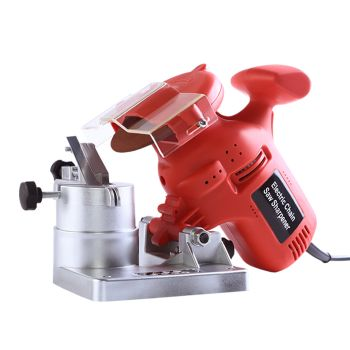 Traderight Electric Chainsaw Stone Sanding Sharpner with Bench Mount 220W