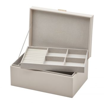 ROSIE Soft Blush Large Jewellery Box