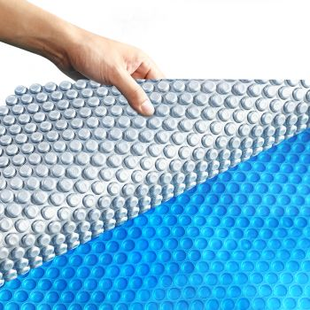 Solar Swimming Pool 400 Micron Outdoor Bubble Blanket 6.5 X 3M