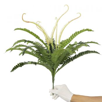 Artificial Dark Green Boston Fern 60cm