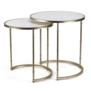 Set/2 Eclipse Marble Tables