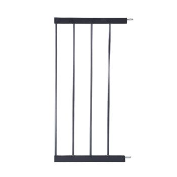 Safety Stair Barrier Extension Panels 30 cms in Black
