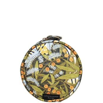 Floral Full Moon Coin Purse - Wattle